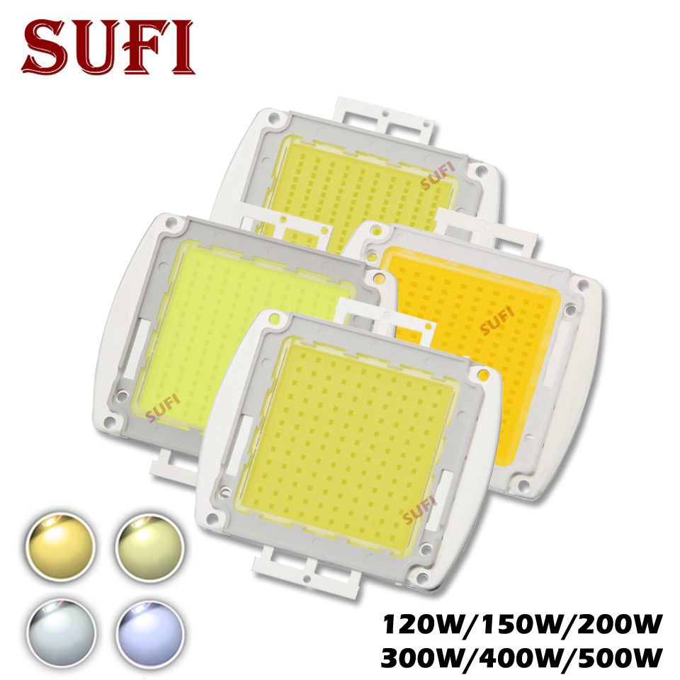 High Power 120W 150W 200W 300W 500W LED COB Bulb Chip Warm Natural Pure Cool White 120 150 200 300 400 500Watt for Outdoor LightHigh Power 120W 150W 200W 300W 500W LED COB Bulb Chip Warm Natural Pure Cool White 120 150 200 300 400 500Watt for Outdoor Light