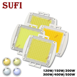 High Power 120W 150W 200W 300W 500W LED COB Bulb Chip Warm Natural Pure Cool White 120 150 200 300 400 500Watt for Outdoor Light