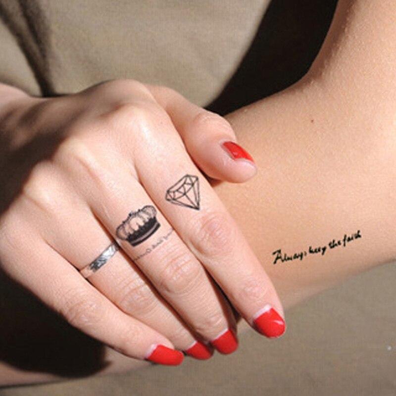 웃 유2 Pc Fałszywy Tatuaż Naklejka Wodoodporna Tymczasowe