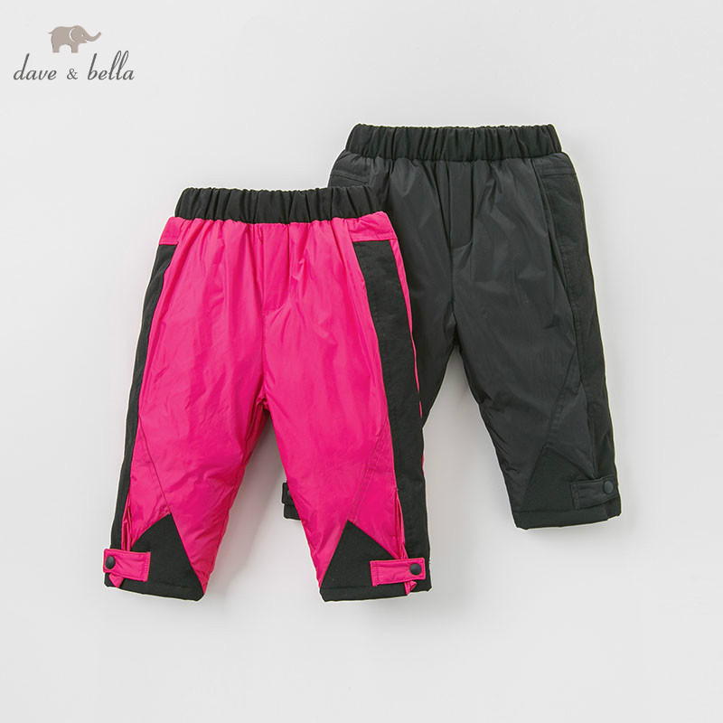 DB8830 dave bella winter 18M-13Y unisex down pants baby fashion padded trousers children high quality down trousers DB8830 dave bella winter 18M-13Y unisex down pants baby fashion padded trousers children high quality down trousers