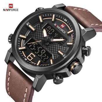 NAVIFORCE 9135 Top Luxury Brand Men Quartz Watch with box.