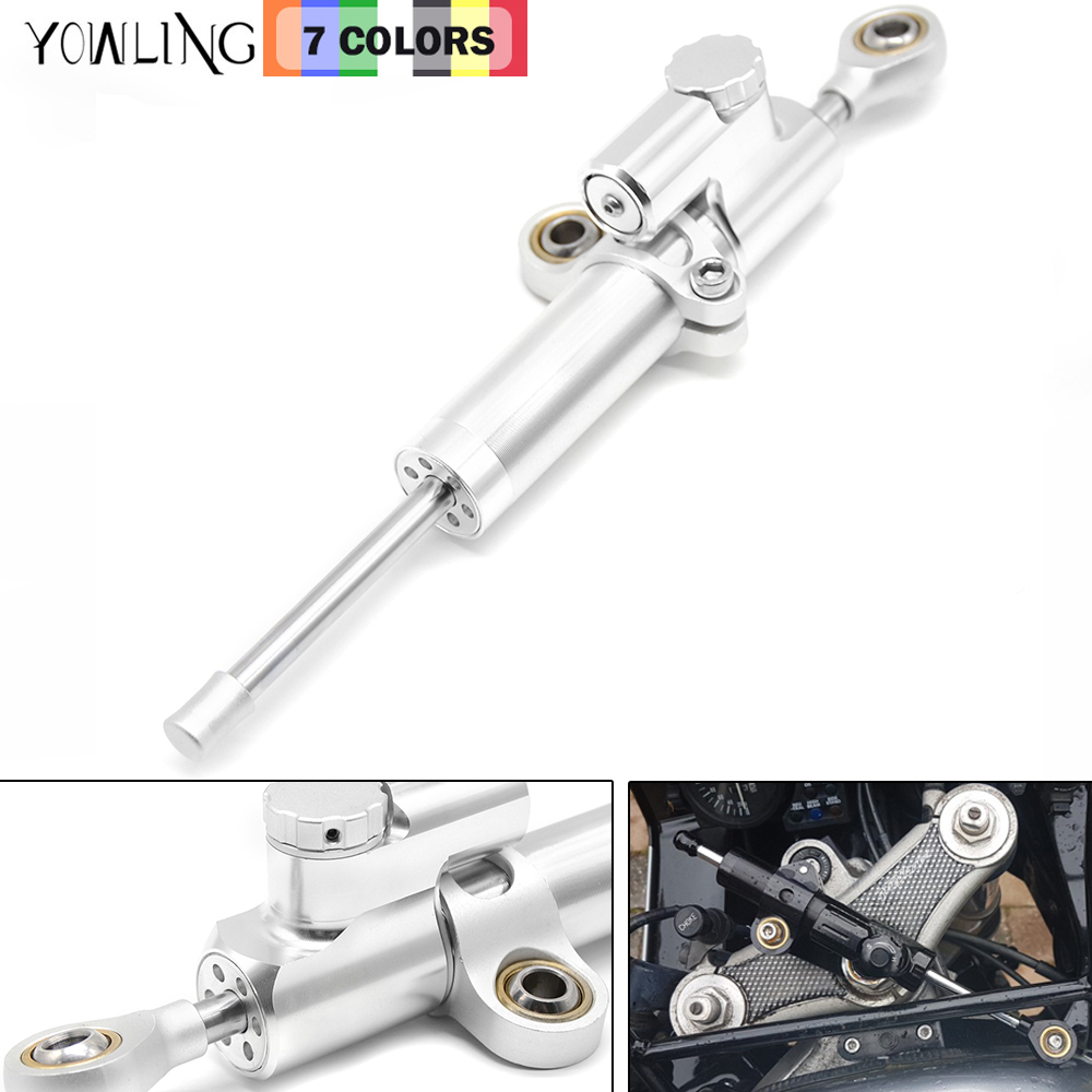 Motorcycle CNC Damper Steering StabilizerLinear Reversed Safety Control For Yamaha MT07 MT09 MT 03 25 YZF