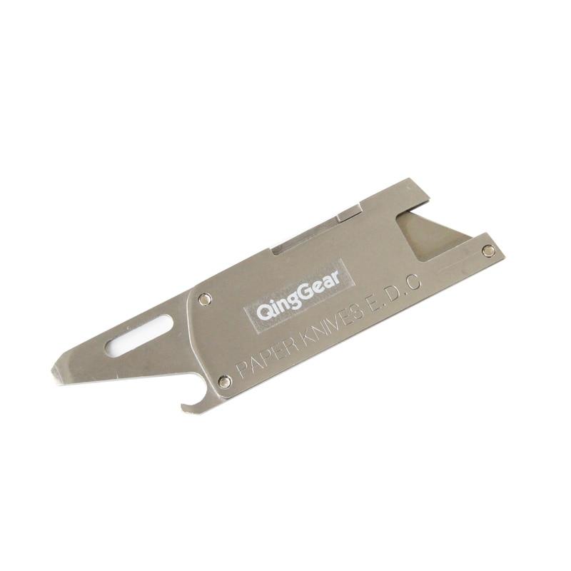 Kompaktowy wielofunkcyjny nóż papierowy W / żyletka płaski - Narzędzia ręczne - Zdjęcie 1