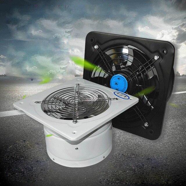 Ventilateur haute vitesse tuyau de cuisine ventilateur d'échappement industrie ventilateur éjecteur d'air ventilateur toilette salle de bains diamètre 200mm supprimer covt HCHO PM2.5