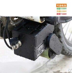 Image 3 - Kit de conversión de bicicleta eléctrica 48V y 300W, Motor de tracción media con batería para bicicleta de montaña y carretera