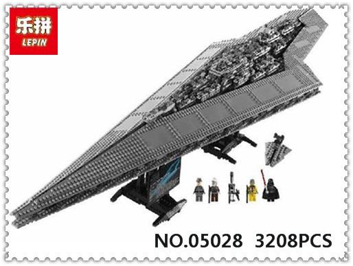 Lepin 05028 Star Wars Execytor Super Star Destroyer Model Building
