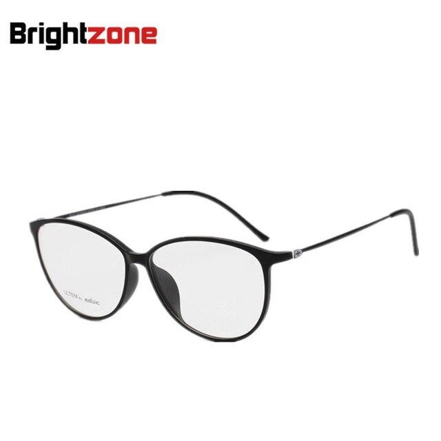 Ultra Light Women Cat Eye Glasses Frame Tungsten Plastic Steel ...