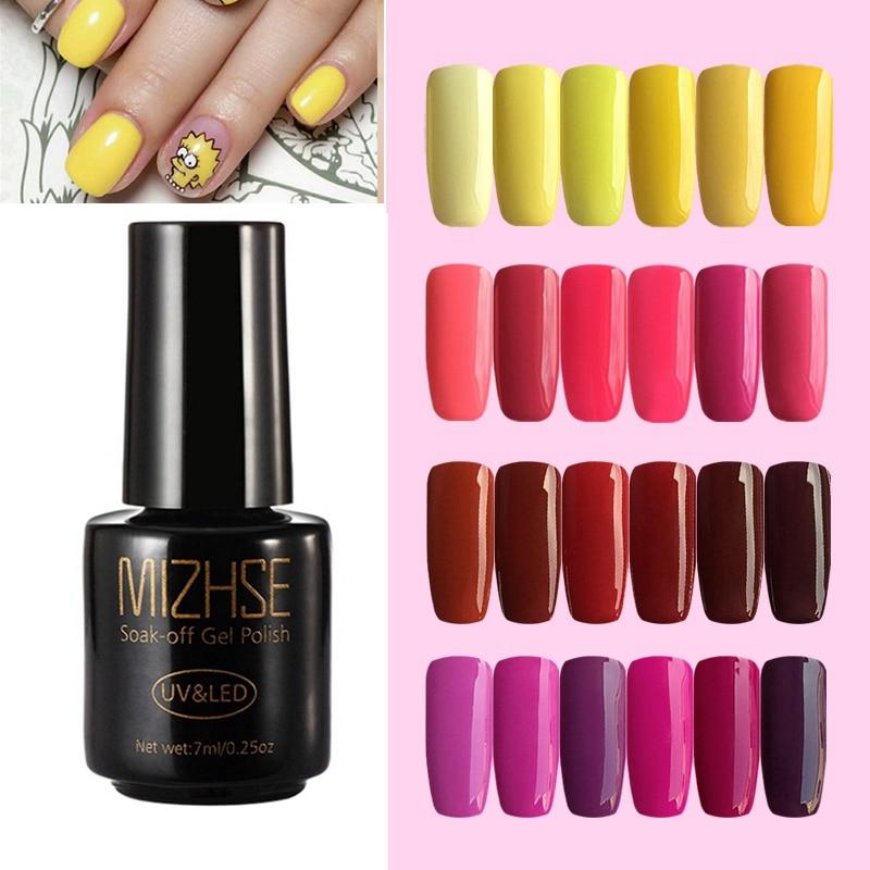 Aliexpress.com : Buy MIZHSE Color Gel Polish UV Led Nail
