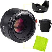 YONGNUO YN50mm f1.8 YN EF 50mm f/1.8 Objectif AF YN50 ouverture Auto Focus pour Canon EOS DSLR Caméras + Cadeau Kit