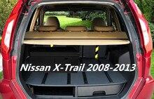 JINGHANG Автомобильный задний багажник защитный лист для багажника экран щит тени крышка насадка для Nissan X-Trail 2008 2009 2010 2011 2012 2013