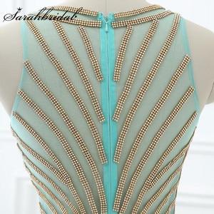 Image 5 - Длинное вечернее платье Aqua, Недорогое Платье длиной до пола из шифона с бусинами и вырезом лодочкой, LX411