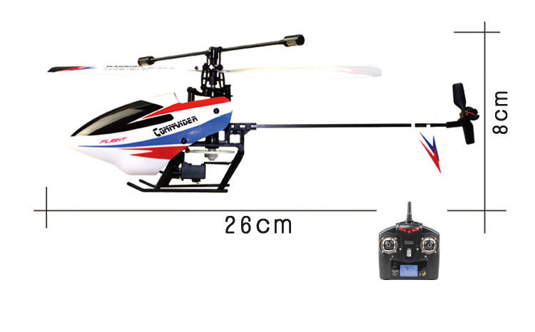 New WLtoys V911-2 RC Helicopter with 4 Channel 2.4GHz Gyroscope Remote Control RC Helicopter V911 V911-1 Upgrade Versio wltoys wl r6 left hand mode remote controller for v911 v911 1 v911 2 v912 v913 black