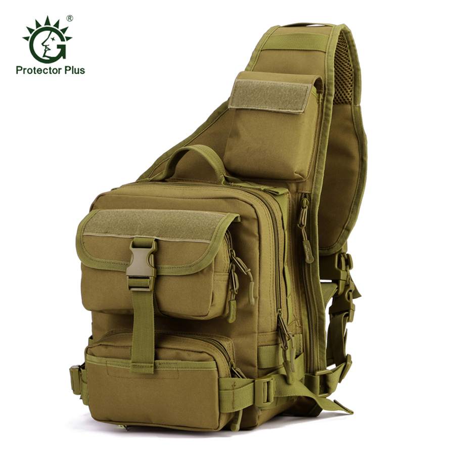 Camping & Hiking Latest Collection Of By Dhl Or Ems 50pcs Nylon Military Tactical Travel Hiking Riding Cross Body Messenger Shoulder Backpack Chest Waterproof Bag Sports & Entertainment