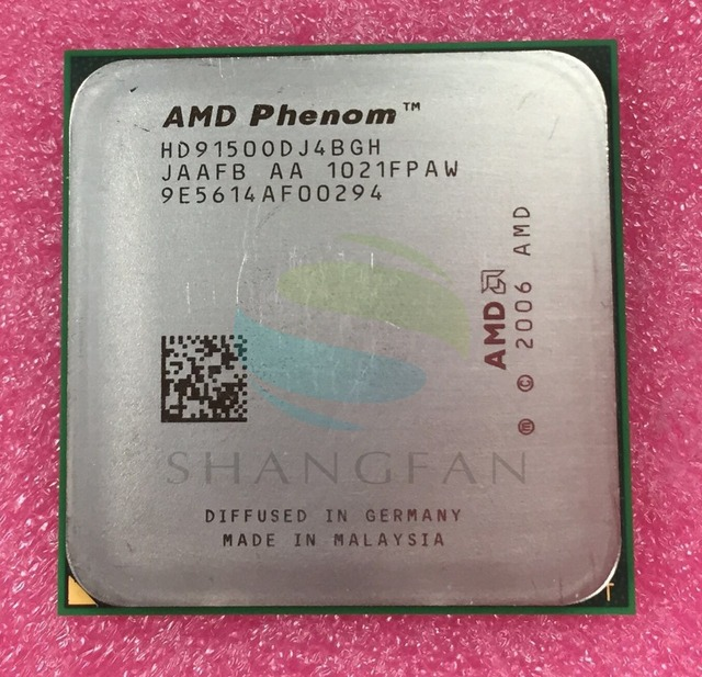Free shipping for Phenom X4 9150  X4 9150e Quad-Core DeskTop 1.8GHz CPU HD9150ODJ4BGHSocket AM2+/940pin