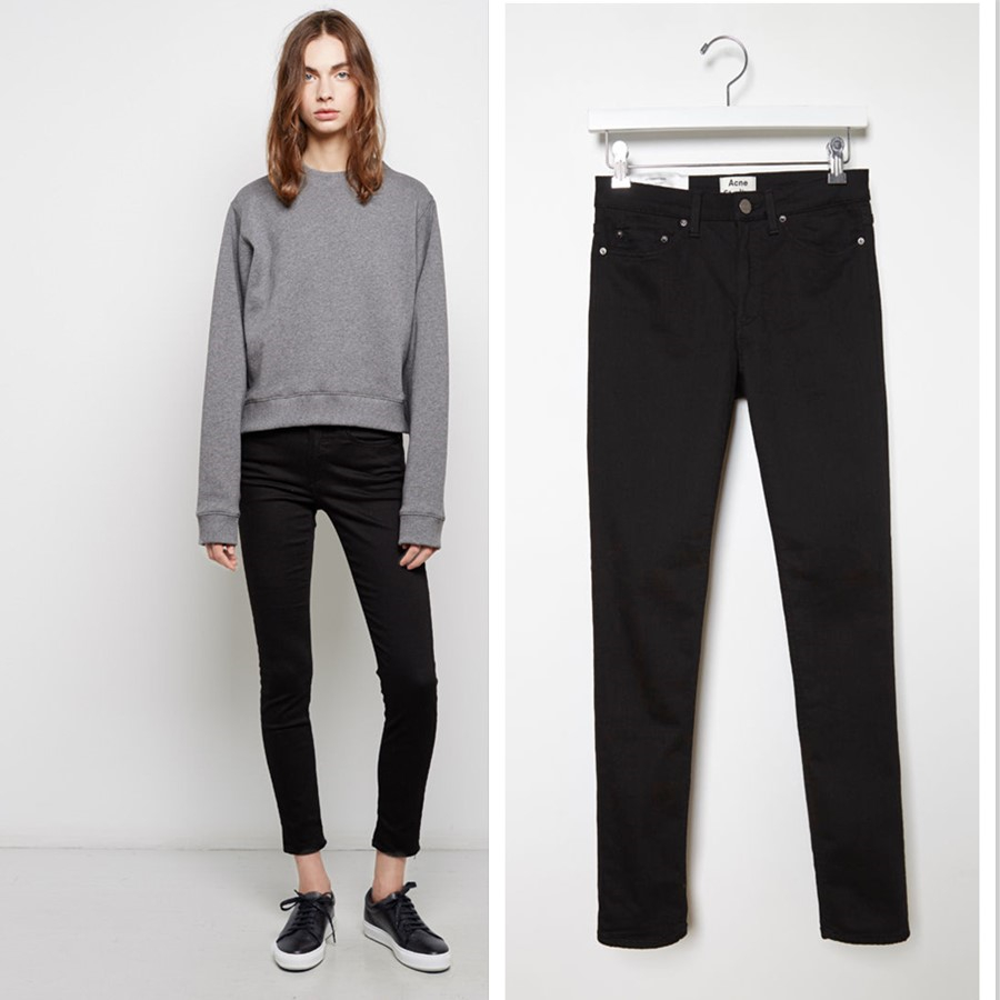 supre high waisted jeans - Jean Yu Beauty