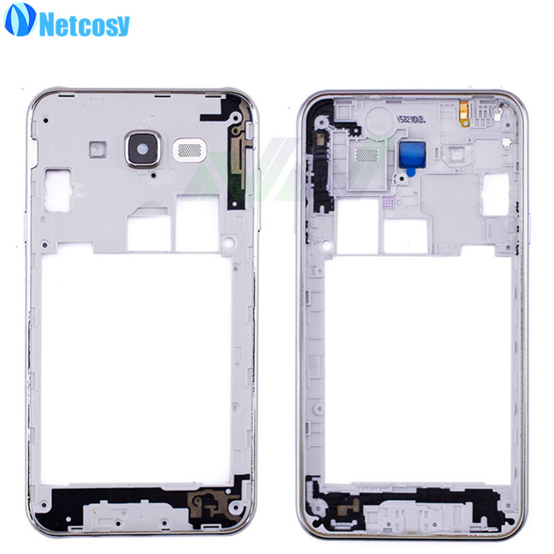 Netcosy High Quality Middle Mid Plate Frame Bezel Housing Cover For Samsung Galaxy J7 Middle Frame Replacemenrt Repair