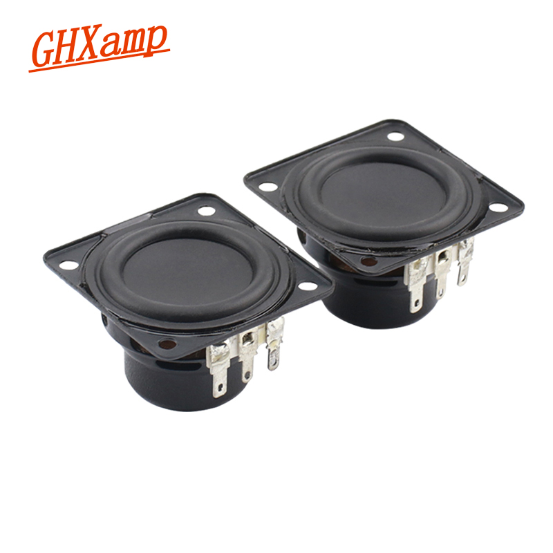 1.75 inch Neodymium Full Range Portable Bluetooth Speaker Long Stroke 4Ohm 6W For Flip 3 Speaker Units DIY 45mm*43mm 2PCS