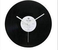Free Shipping Wall Clock LP Disc Creative Unique Home Wall Bar Decor Music