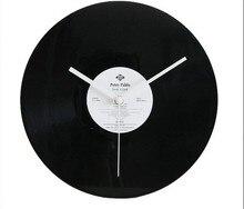032178 wall clock clocks disc   unique home decoration bar decor music Film Vinyl record morden new design  gifts