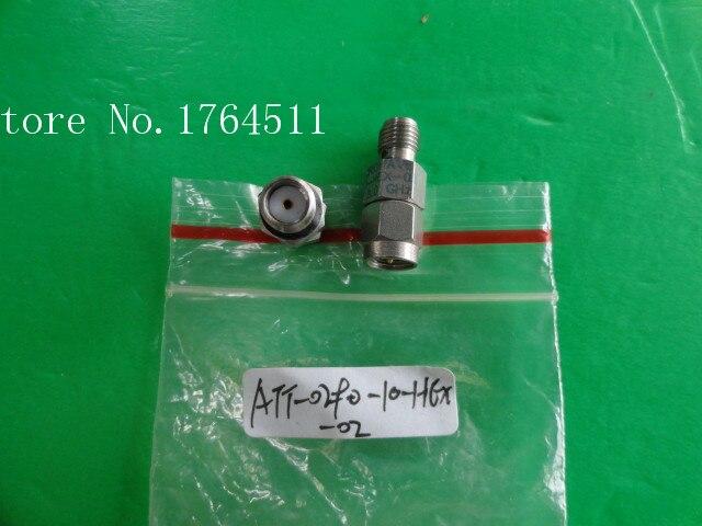 [BELLA] MIDWEST ATT-0290-10-HEX-02 18GHz 10dB 2W SMA Coaxial Fixed Attenuator  --2PCS/LOT