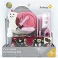 18 unids bebé y estética cuidado de la salud Manicure Set Baby cuidado de las uñas práctico Clipper Trimmer convenientes pelo del bebé cepillo cuidado Kits