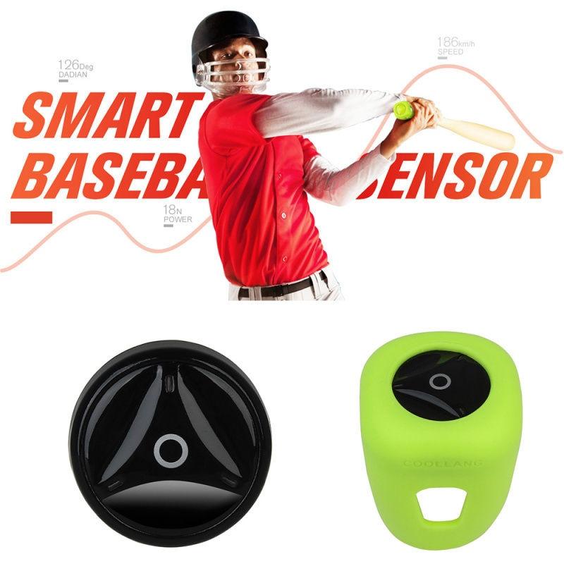 Free shipping!Coollang Baseball Tracker Sensor Training Aid Swing Skill Data Act
