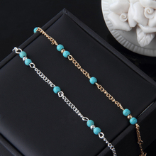 Hot Sexy Women Beads Ankle Chain Anklet Bracelet Foot Sandal Beach New 2016 Fashion Fine Jewelry JL027