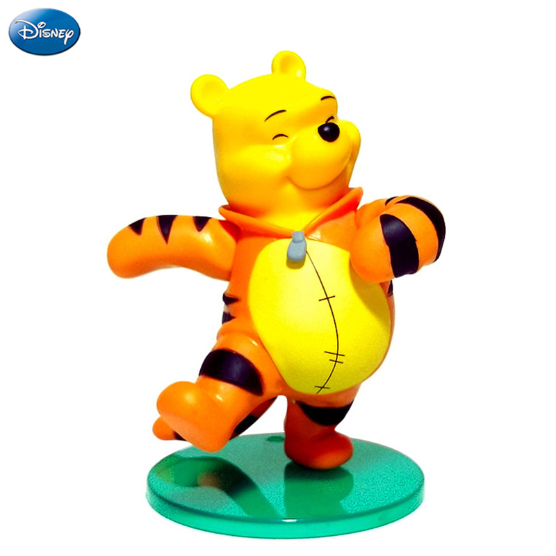 16cm Disney Winnie The Pooh Action Figure Tigger Doll Birthday Present Children Toy Limited Collection New Arrival High Quality dahase stainless steel butterfly deployment clasp 12mm 14mm 16mm 18mm 20mm 22mm 24mm double push watch buckle for watch strap