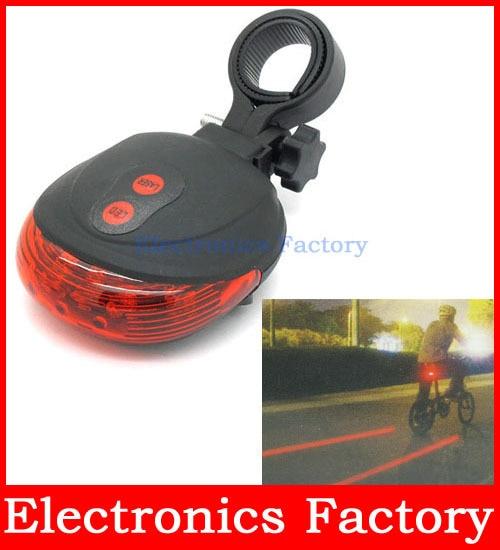 LED Lights 7 Modes Prompt Lamp Safety Taillight Bike Caution Light Rear Light