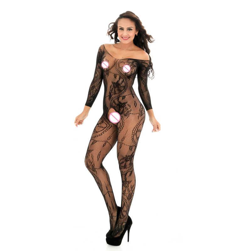 Đen Đỏ Màu Phụ Nữ New Đồ Lót Sexy Lưới Hot Hollow Bé Búp Bê Ăn Mặc Khiêu Dâm Trang Phục Sexy Đồ Lót Bodysuits W606