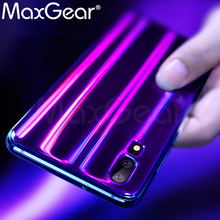 MaxGear for Huawei P20 Case Cover Huawei P20 Pro Soft TPU back Case P20 Aurora Shining Silicone Full Cover p20 back Case Laser