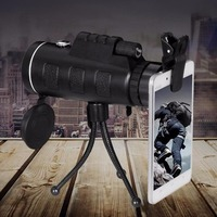 Day And Night Vision HD 40x60 Handheld Optical Monocular Outdoor Camping Hunting Telescope Zoom With Compass