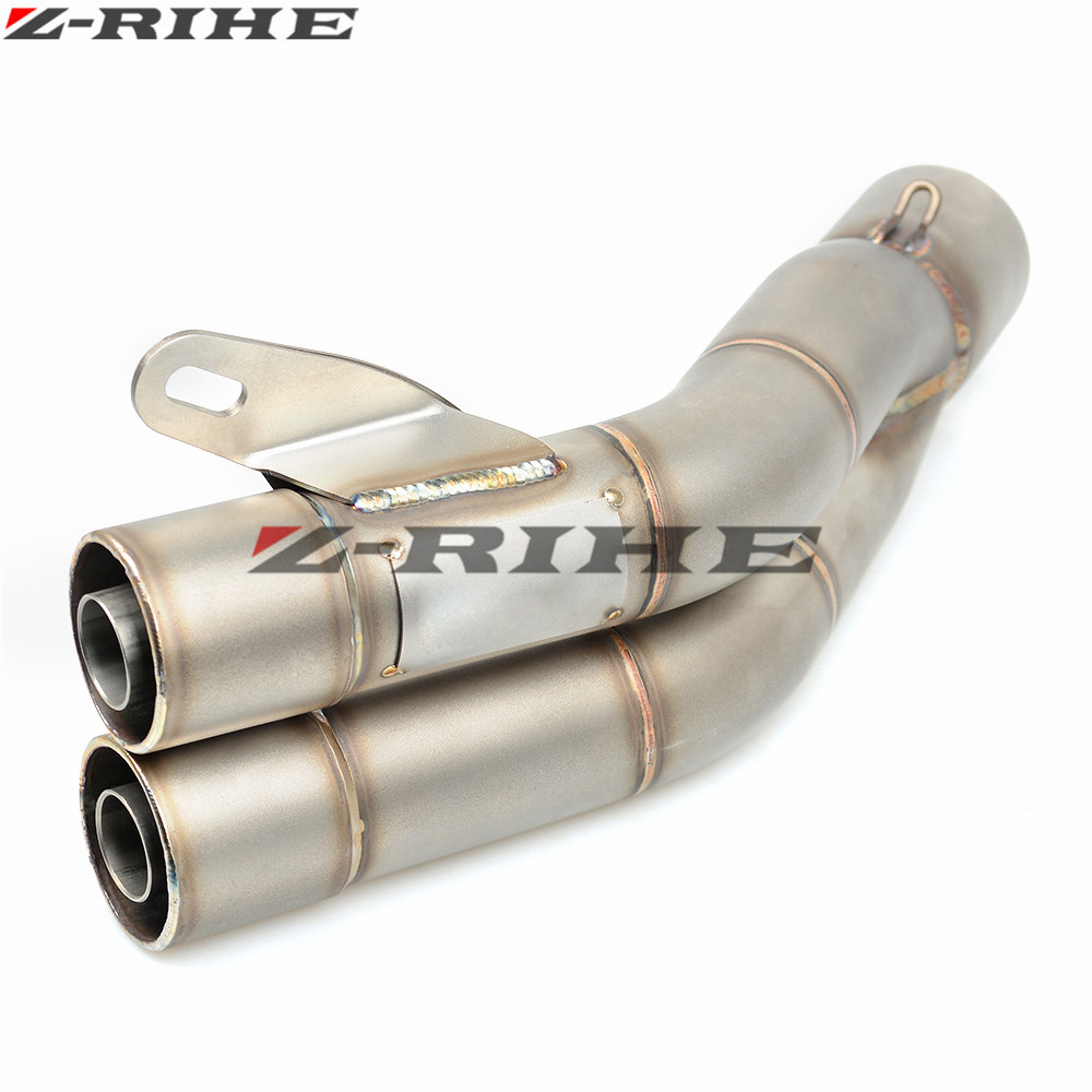 купить 36mm-51mm qualUniversal Motorcycle Double Exhaust Muffler Pipe For Honda CBR954RR CBR600RR CBR900RR CBR 600 F2,F3,F4,F4i по цене 4974.02 рублей