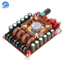 TDA7498E مضخم الصوت مجلس المزدوج قناة 24 V 2X160 W عالية الطاقة ستيريو أمبير وحدة دعم أحادية مكبر للصوت ل سيارة