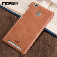 Redmi 3 Pro чехол MOFI оригинальный Xiaomi Redmi 3 Pro Кожаный чехол жесткий Coque телефон Fundas Redmi3 S 5.0 дюймов случай 3 s pro