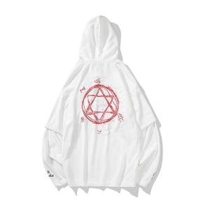 Image 5 - 2019 summer style hip hop men sweatshirts streetwear hoodies long sleeve pullover outwear ABZ364