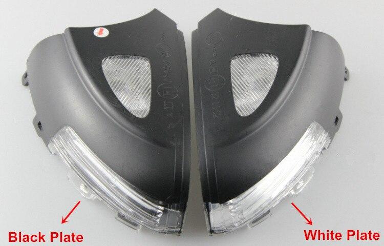 Saborway Side Mirror Turn Signal Lamp Light Indicator Lamp to Ambient Light For Yeti 2009-2016 5L0 5LD 949 101 C / 102 C
