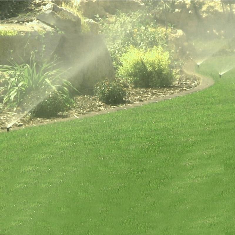 "HTB1COjGc1LM8KJjSZFqq6y7.FXaw 90-360 Degree Pop up Sprinklers Plastic Lawn Watering Sprinkler Head Adjustable Garden Spray Nozzle 1/2"" Female Thread 1 Pc"