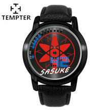 The new touch screen LED electronic watches Sport Watch Mens GamesGenuine Leather Quartz-watch Limited Edition ONE TEMPTER 2017