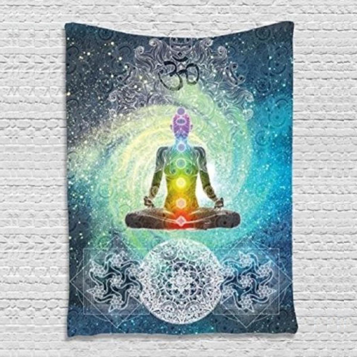 Wandbehang Indische Mandala Tapisserie 200X130 cm Böhmische Tagesdecke Wohnheim Abdeckung Yoga Matte Strandtuch Home Room Wall Art Decor