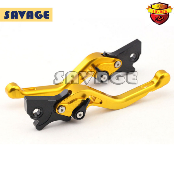 ФОТО Motorcycle CNC Billet Aluminum Short Brake Clutch Levers For GILERA Runner 200 2003-2008 Golden