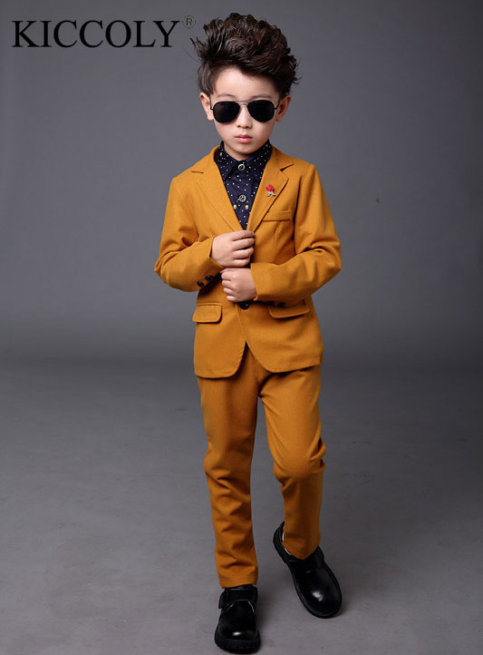 Top Quality Boys Blazer 3 pcs/set Wedding Suits for Boy Formal Dress Suit Boys wedding suit Kid Tuxedos Page boy Outfits 2016 new arrival fashion baby boys kids blazers boy suit for weddings prom formal wine red white dress wedding boy suits
