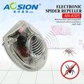 Aosion Eletrônico & bugs ultrasonic casa/aranha repelente rato ultra-sônica repeller pest repeller com luz CONDUZIDA da noite