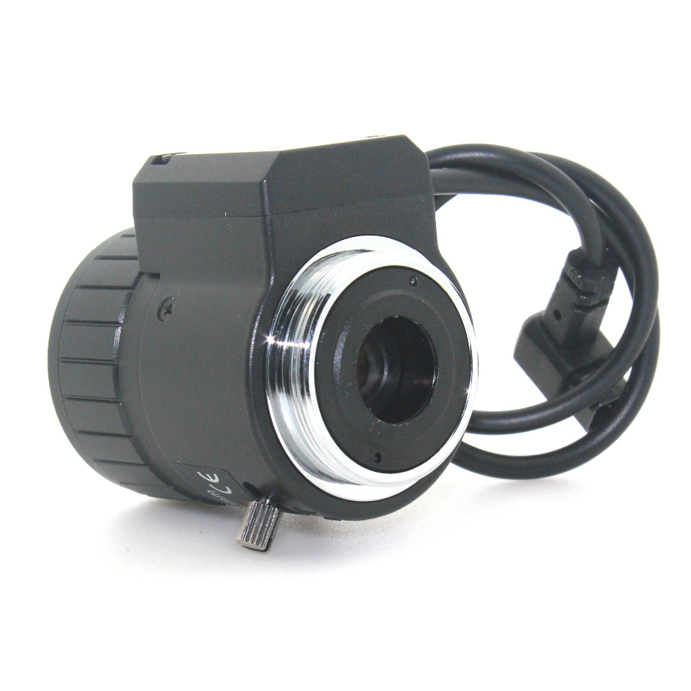 Image 5 - 3MP 2.8 12mm HD 3.0megapixel Auto Iris varifocal IR metal CS CCTV lens,F1.4, for Security cctv camera-in CCTV Parts from Security & Protection