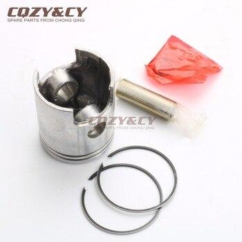 Pistón y anillo de pistón de 40,3mm-49mm para MOTOR eléctrico Minarelli, Caballero SM50 Regolarita Casa 50 AM6 2006, agujero de perno de pistón 12mm