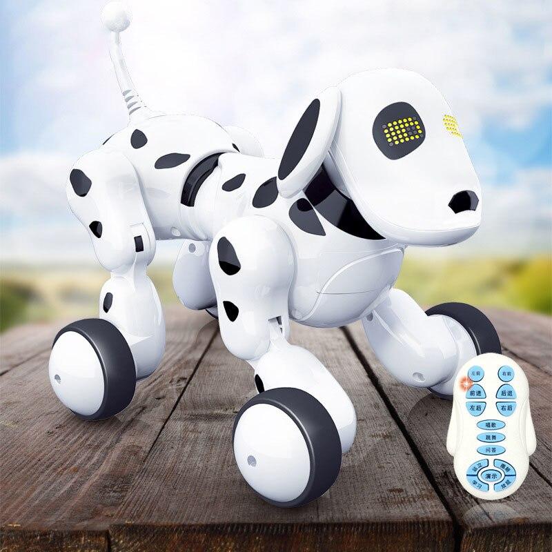 Robot chien électronique Pet Intelligent chien Robot jouet Intelligent sans fil parlant télécommande enfants cadeau pour anniversaire enfants jouets