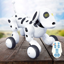Buy Robot Dog Electronic Pet Intelligent Dog Robot Toy  Smart Wireless Talking Remote Control Kids Gift for Birthday Children's Toys directly from merchant!
