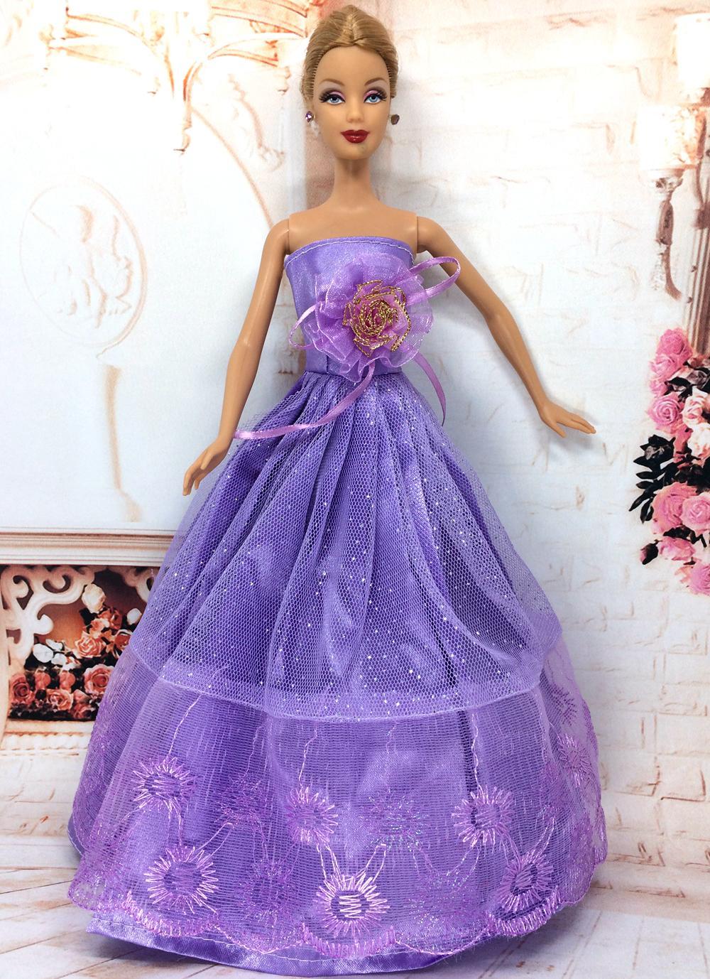 Buy nk one pcs 2016 princess wedding for How to make a barbie wedding dress