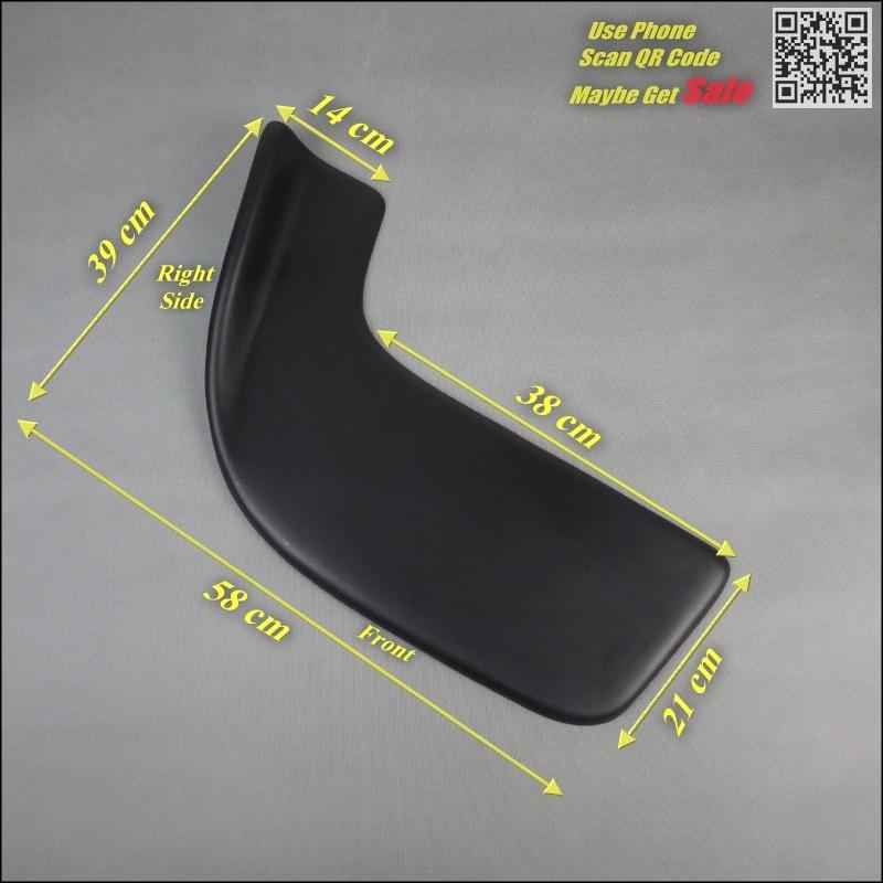 Car Splitter Diffuser Bumper Canard Lip For BMW X4 F26 2014~2016 Tuning Body Kit  Front Deflector Car Fin Chin Reduce Body Size