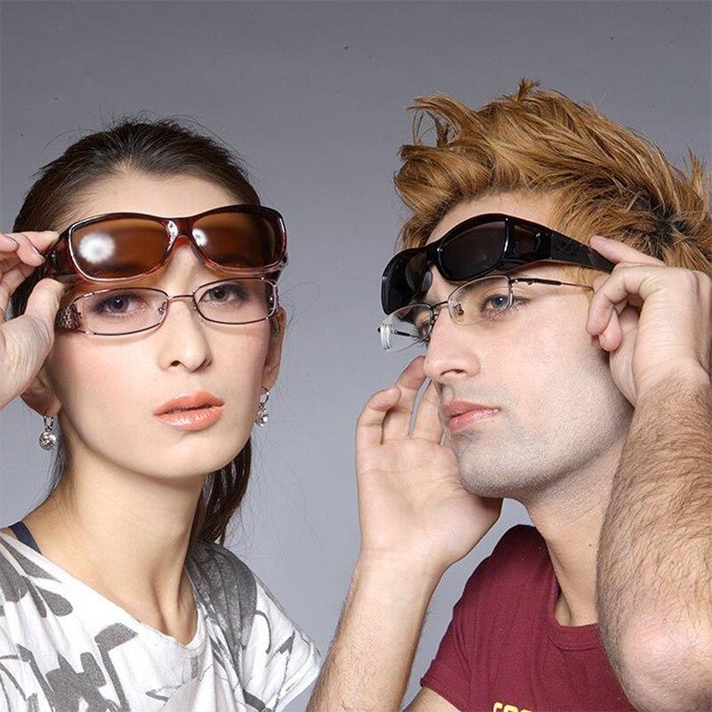 Gratis verzending Gepolariseerde zonnebril UV400 fit over bril - Visvangst - Foto 5